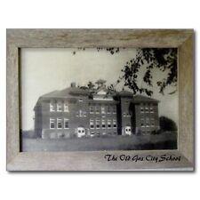 "+PC-Postcard-"" Old Gas City School"" -Indiana- ...Classic (B473)"