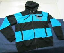 SouthPole Zip-up Hoodie Men's Size Medium Black/Blue