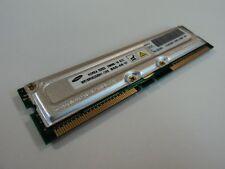 Samsung RAM Memory Module 256MB PC800 800MHz RDRAM RIMM MR18R082GBN1-CK8