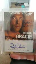 2010 Topps UFC Royce Gracie Signed AUTO Autograph