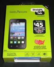 "New Sealed Straight Talk Alcatel OneTouch Pixi Eclipse 4"" 2GB Prepaid Smartphone"