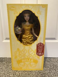 """Disney Beauty and Beast Belle Deluxe 17"""" Doll Light Up Singing Mrs. Potts New"""