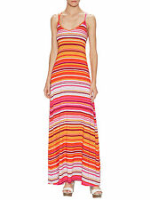 Rachel Pally Murphy Gorgeous Striped Strappy Maxi Sun Dress Large NEW $246 L