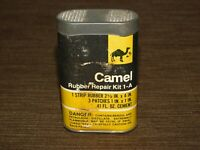 "VINTAGE 3 1/2"" HIGH CAMEL  BICYCLE RUBBER TIRE  REPAIR KIT 1-A"
