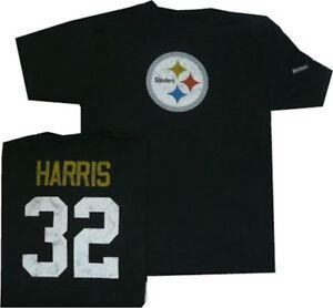 Pittsburgh Steelers Franco Harris Reebok Throwback Pro Style Oversized T Shirt