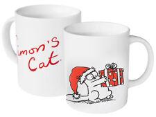 SIMON'S CAT WEIHNACHTSTASSE Glühwein Becher Simons Tasse, Geschenk Weihnachten