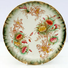 Antique Vintage c1889 GT Mountford Floral Plate