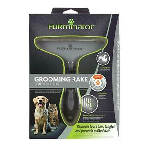 Furminator Grooming Rake for Cats & Dogs | Dogs, Cats