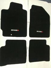 Fit 02-06 Nissan Altima 4Dr Black Nylon Floor Mats Carpet W/ N Emblem 2