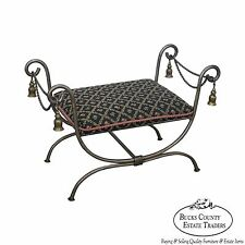 Quality X Base Curule Bench