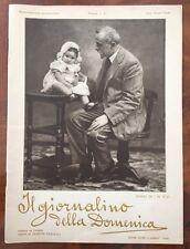 IL GIORNALINO DELLA DOMENICA Anno IX N. 21, 27 nov. 1921, Maestro Sapone Vamba