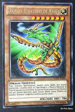 DRAGO IERATICO DI ASAR GAOV-IT024 Rara in Italiano YUGIOH