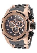 14408 Invicta Reserve 52mm Bolt Zeus Swiss Chronograph RG Case Gray Strap Watch