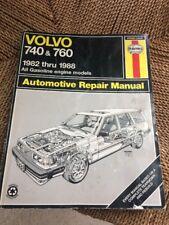 Haynes Repair Manual for 1982-1988 Volvo 740 760
