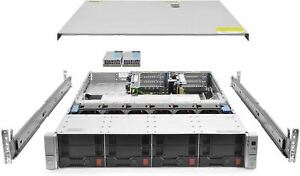 HP ProLiant DL380 G9 Gen9 4 Bay LFF 2U Rackmount Server, 1x Xeon E5-2620 V3 2.4G