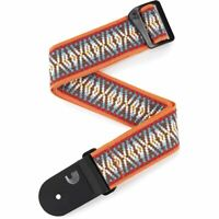 Guitar Strap D'Addario Electric Acoustic Bass Sunrise Hootenanny Woven Jacquard
