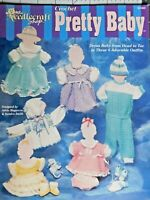 Crochet Pretty Baby   6 Adorable  Outfits  Patterns  The Needlecraft Shop  Rare