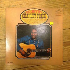 Charley Pride - Country LP Vinyl RARE Mono LPM-3645 RCA Victor Dynagroove