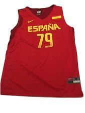 Nike RUBIO #79 Jersey Olympic Games Rio 2016 Spain National Basketball Team