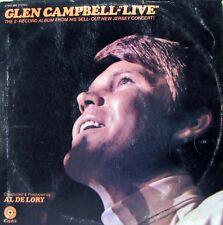 GLEN CAMPBELL Live LP