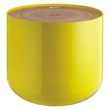 BLYTH Yellow Storage Side Table With Bamboo Lid - 194742 - RRP £110 - (D31)