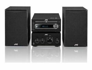 JVC UX-D750 100W Bluetooth DAB CD NFC USB Hi-Fi System - Black R