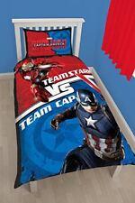 Marvel Captain America & Iron Man guerre civile Set Housse de couette Simple