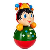 "4.75/"" STELLAR 01342 /""TRANSPARENT/"" Yula Spinning Top Toy Volchok Pump /& Spin"