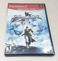 PlayStation 2 PS2 Greatest Hits SoulCalibur III ~ w/ Game + Case + Instructions