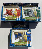 Vtg Lot of 3 1996 Power Rangers Zeo III/IV/V Morphin Bandai In Box(s)