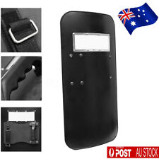 Tactical PC Anti Riot Shield Hand-held Police CS Shield Tool 5mm Thickness