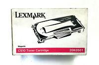 TONER LEXMARK 20K0501 ORIGINALE MAGENTA 3000 PAGINE