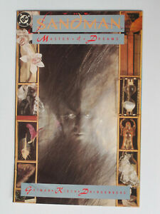 SANDMAN # 1 US DC 1989  Neil Gaiman story Dave McKean 1st Morpheus  VFN-NM