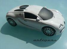 Clé key USB voiture auto, Bugatti Veyron blanche en métal 8Gb Go   - No Brochure