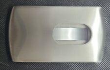 Silver Credit Card Holder ID Card Case Slim Travel Wallet Case
