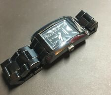 EMPORIO ARMANI Black Ceramic Watch AR1406