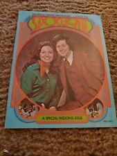 Rare Osmond Spotlight Magazine Wayne Kathy Cover Osmonds Jan 1975 Vol 3 No 1