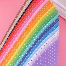 Polyester Polka Dot Printed Fabric Polyester Handmade Nonwoven Material 20x Ea7X