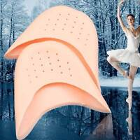 Kit 2x protezione dita piede punta piedi silicone balletto danza ballerina soft