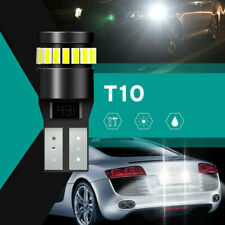 2X T10 501 194 W5W SMD 24 LED Car CANBUS Error Free Wedge Light Bulb White Top