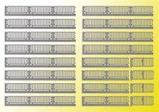 VOLLMER 45014 Spur H0, Fabrikzaun, 192cm (Grundpreis 1m=4,32 Euro) #NEU in OVP#