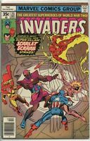 Invaders 1975 series # 23 fine comic book
