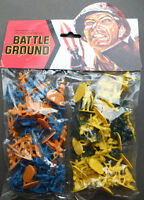 Toy WW2 Japanese Infantry Soldiers Unopened 1980s Packet Old Shop Stock