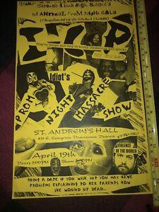 Insane Clown Posse ICP Prom Night Massacre Show Poster Vintage