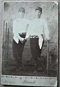 Antique Cabinet Photo of Baseball Players ca.1879-Kansas-Garnett & Montezuma