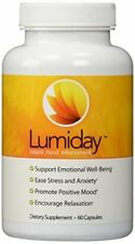 Lumiday Natural Mood Enhancement Dietary Supplement - 60 Capsules