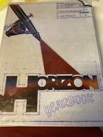 1986 & 1987 Horizons College Yearbook '86 '87 CLEAN - NO Writing!