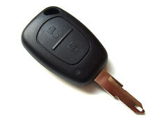 Vauxhall Opel Vivaro Monavo etc.. 2 Button Remote Key Fob + Blank Key Blade