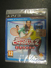 SPORTS CHAMPIONS 2   PS3 SIGILLATO    ( MOVE )