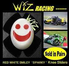 WIZ SPARKY RED-WHITE SMILEY KNEE SLIDERS
